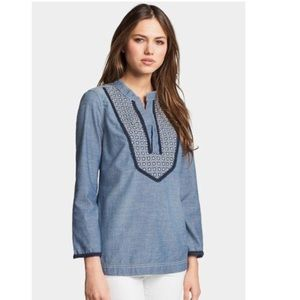 Tory Burch 'Bernadette' Tunic Top